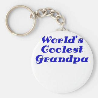Worlds Coolest Grandpa Key Chains