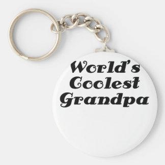 Worlds Coolest Grandpa Keychains
