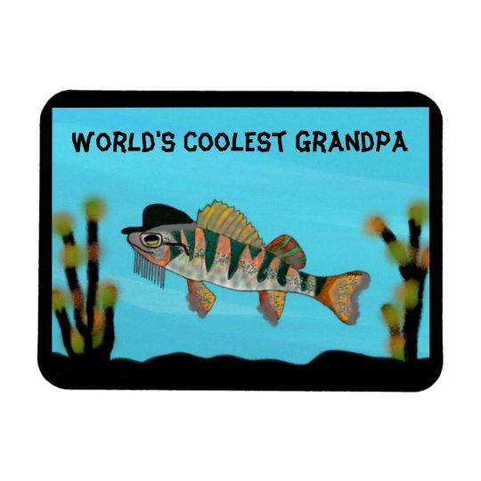 World's Coolest Grandpa Premium Magnet