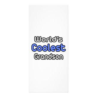 World's Coolest Grandson Rack Card Design