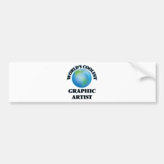 World's coolest Graphic Artist Bumper Sticker