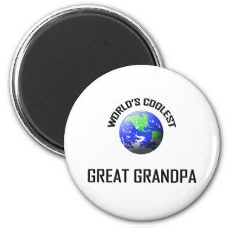 World's Coolest Great Grandpa Fridge Magnet