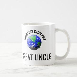 World's Coolest Great Uncle Basic White Mug