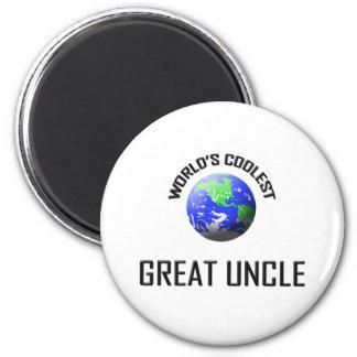 World's Coolest Great Uncle Magnet