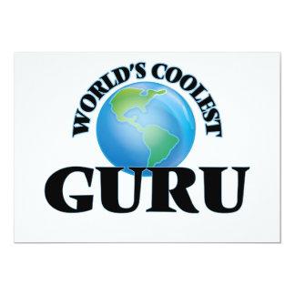 World's coolest Guru Custom Invitation