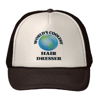 World's coolest Hair Dresser Mesh Hat