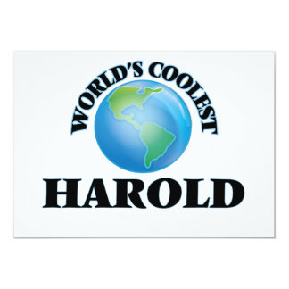 World's Coolest Harold Cards
