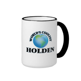 World's Coolest Holden Coffee Mugs