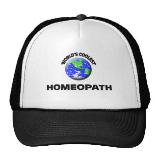 World's Coolest Homeopath Trucker Hats
