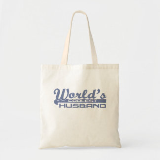 World's Coolest Husband Budget Tote Bag