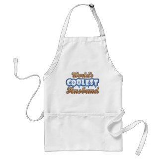 World's Coolest Husband Standard Apron