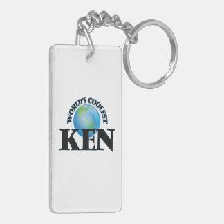 World's Coolest Ken Rectangle Acrylic Key Chains