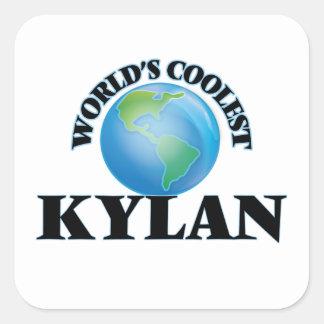 World's Coolest Kylan Square Sticker