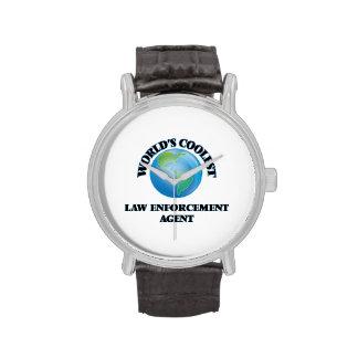 World's coolest Law Enforcement Agent Wrist Watch