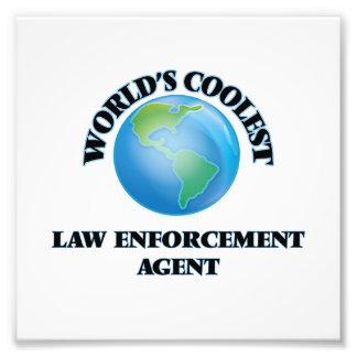 World's coolest Law Enforcement Agent Photographic Print