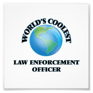 World's coolest Law Enforcement Officer Photo Art