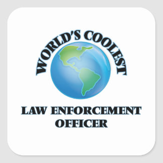 World's coolest Law Enforcement Officer Stickers