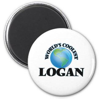 World's Coolest Logan Magnet