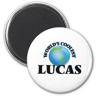 World's Coolest Lucas Refrigerator Magnets