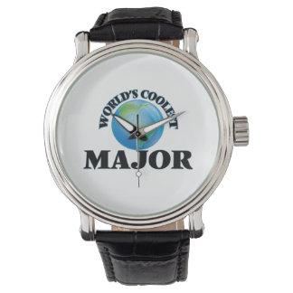 World's coolest Major Wrist Watch