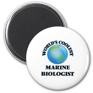 World's coolest Marine Biologist Refrigerator Magnet