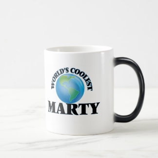 World's Coolest Marty Coffee Mugs