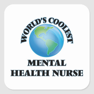 World's coolest Mental Health Nurse Sticker