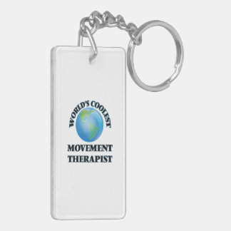 World's coolest Movement Therapist Acrylic Keychains