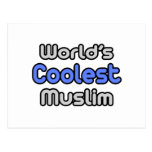 World's Coolest Muslim Post Cards