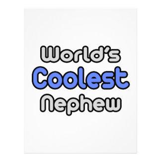 World's Coolest Nephew Flyer