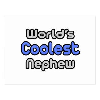 World's Coolest Nephew Postcard