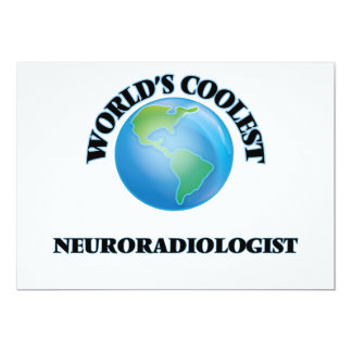 World's coolest Neuroradiologist Custom Announcement Card