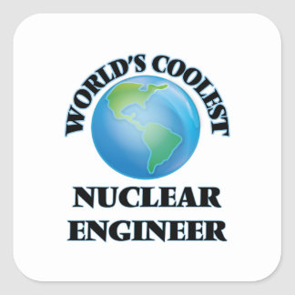 World's coolest Nuclear Engineer Stickers