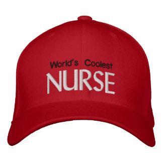 World's Coolest Nurse Embroidered Cap