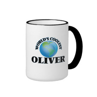 World's Coolest Oliver Coffee Mugs