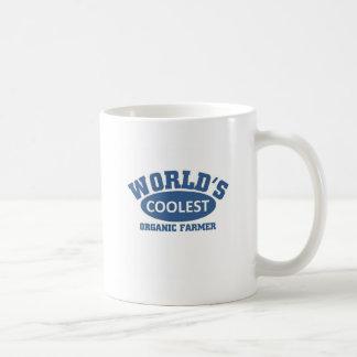 World's Coolest Organic Farmer Basic White Mug