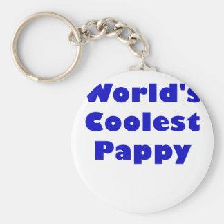 Worlds Coolest Pappy Keychains