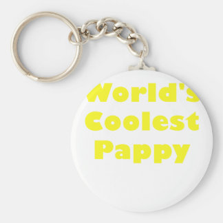 Worlds Coolest Pappy Key Chain