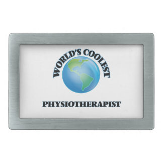 World's coolest Physiotherapist Belt Buckle