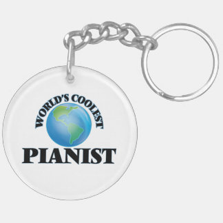 World's coolest Pianist Acrylic Key Chains