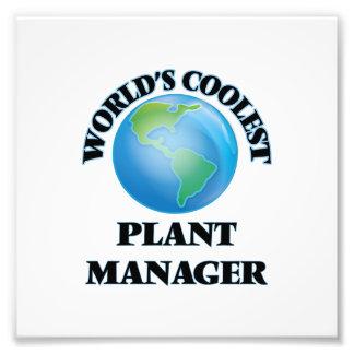 World's coolest Plant Manager Art Photo