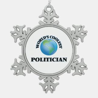 World's coolest Politician Ornaments