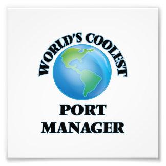 World's coolest Port Manager Art Photo