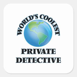 World's coolest Private Detective Sticker