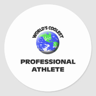 World's Coolest Professional Athlete Stickers