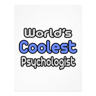 World's Coolest Psychologist Full Color Flyer