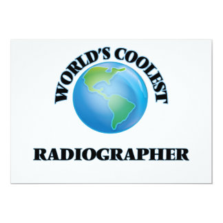 World's coolest Radiographer Personalized Invitation