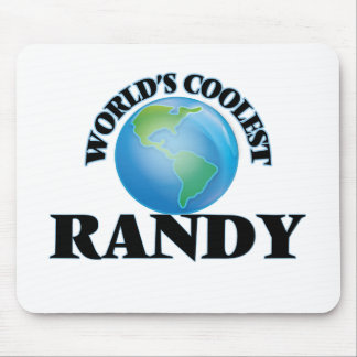World's Coolest Randy Mouse Pad