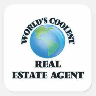 World's coolest Real Estate Agent Sticker