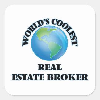 World's coolest Real Estate Broker Sticker